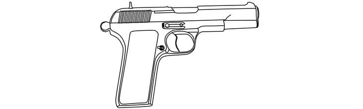 Firearms Coloring Book Highlights Gun Safety