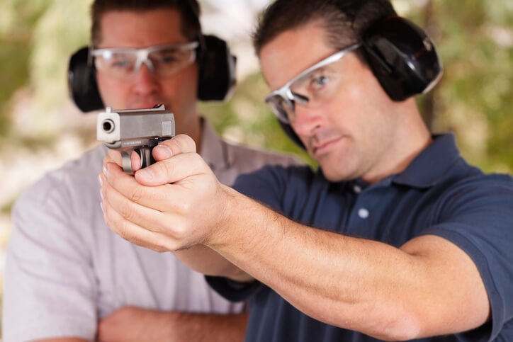 Don't Let Your Guard Down During Firearms Training